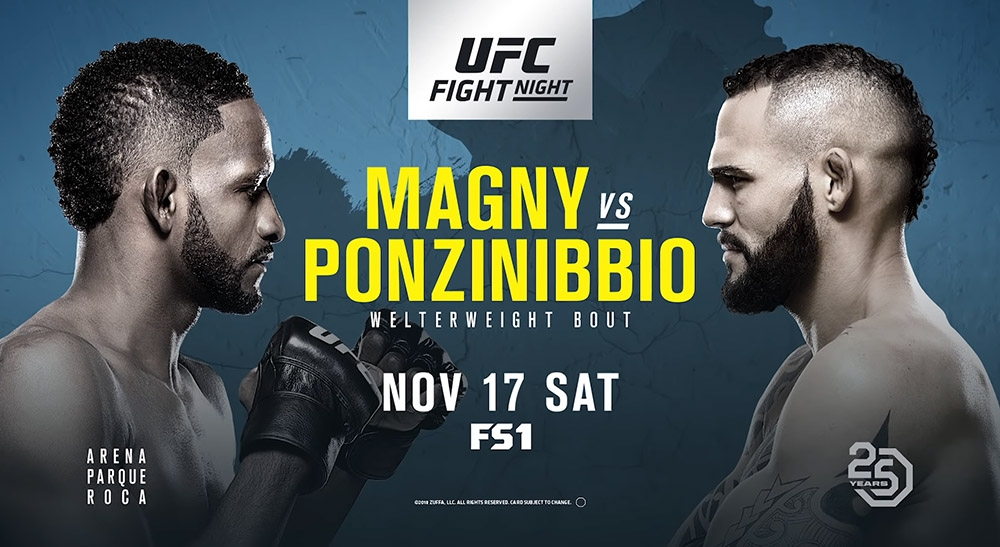 Итоги UFC Fight Night 140: Нил Мэгни vs Сантьяго Понзиниббио